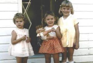 Life before vaccinations three little girls circa 1971